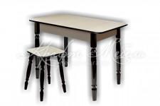Стол Прямоугольный (точеные ноги)