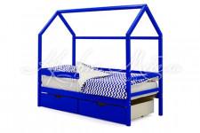 Детская кровать-домик Svogen синий