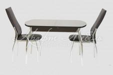 Столовая группа (стол Гала-1+стулья Комфорт)