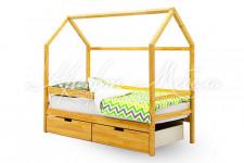Детская кровать-домик Svogen натура