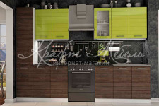 Кухня Ривьера (1.8м со стеклом) ВВР