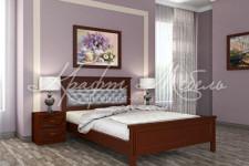 Кровать Грация, массив (орех, разные размеры)