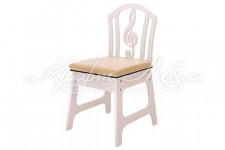Детский стул Скрипичный ключ мягкий (разные цвета)