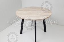Стол Флоренция-К разные цвета (900*900 мм) ножка №5