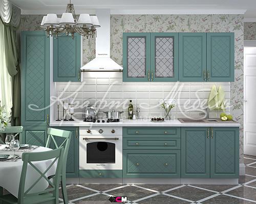 Кухня Модена 1,6 м (разные цвета,модульная)