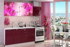 Кухня Орхидея фотопечать (2,0 м)
