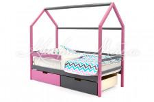 Детская кровать-домик Svogen лаванда-графит