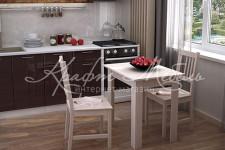 Стол кухонный (800х600х750)