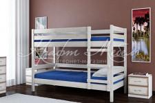 Кровать Джуниор двухъярусная (дуб белый)