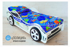 Детская кровать-машина «Полиция»