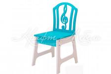 Детский стул Скрипичный ключ
