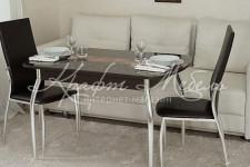 Обеденный стол Орфей 37.10 Венге (1200х750х750)