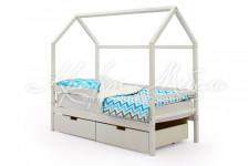Детская кровать-домик Svogen белый