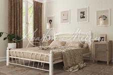 Кровать Муза-1 (белый/белый)