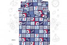 Комплект детского постельного белья Матч (1,5)