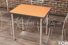Стол Ломберный 800 (600/1200*800*750) Оранжевые цветы