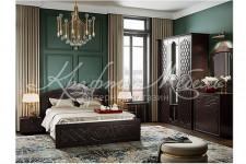 Спальня Престиж (модульная) Шоколад/Венге