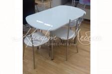 Стол стеклянный СТ2040_М400 (1200(1600)*700)