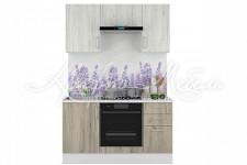 Модульная кухня Европа (1.5м Белый/Серый Крафт)