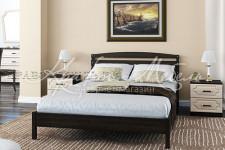Кровать Камелия-1 (венге,1.4 м;1.6 м) массив