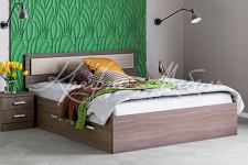 Кровать с 2-мя ящиками (1.4/1.6) Жаклин
