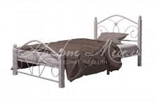 Кровать Селена-1 (белый/белый,900 мм)