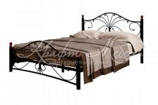 Кровать Фортуна-2 (черный/черный)