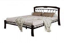 Кровать Муза 4 Лайт (черный/шоколад)