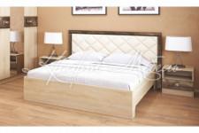 Кровать Мадлен (1,4м;1,6м) Дуб Сонома/Дуб Шале Мореный
