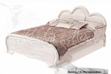 Кровать двойная 1,6 КР-03 Филадельфия
