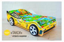 Детская кровать-машина «Такси»