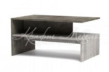 Стол журнальный №1 Честер (900*550*450) Риббек серый