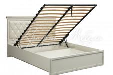 Кровать двойная 40.12-02 (ш.1400) с ПМ Эльмира