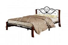 Кровать Венера 4 Лайт (черный/махагон)
