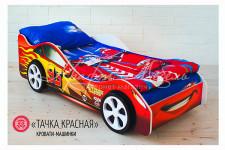 Детская кровать-машина «Тачка красная»