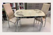 Столовая группа (стол Верона-1+2 стула Лорд)