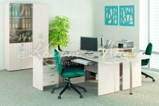 Набор мебели для офиса Альфа 63 (модульная система)