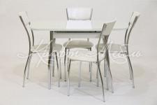 Столовая группа (стол Гала-7+стулья Сильвия)