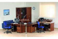 Набор мебели для офиса Альфа 62 (модульная система)