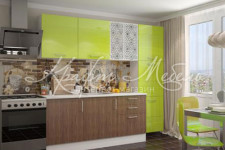Модульная кухня Люкс(лайм)/Европа(морское дерево)
