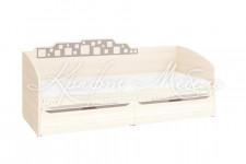Кровать 55.11 (950х2040х880) Мегаполис Витра