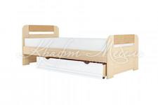 Кровать с основанием ЛДСП 900.3 Стиль