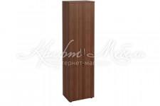Шкаф офисный для одежды малый с замком Альфа 62.43 (550x390x2000)