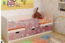 Кровать детская Минима Хелоу Китти (1,8 м)