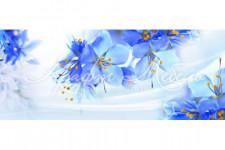 Фартук для кухни ABS Цветы 40 Нежные цветы