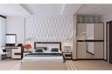 Комплект для спальни №5 (модульный) Шарм