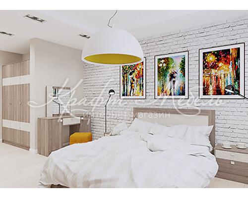 Набор для спальни №4 (модульный) Аврора