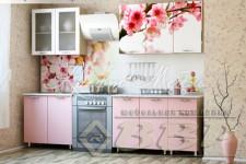 Кухня Сакура с фотопечатью (готовые решения 1.6м,1.8м,2.0 м)