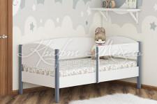 Кровать  Фантазия - 9 (серый;белый)
