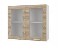 Шкаф-витрина со стеклом 800 Полонез